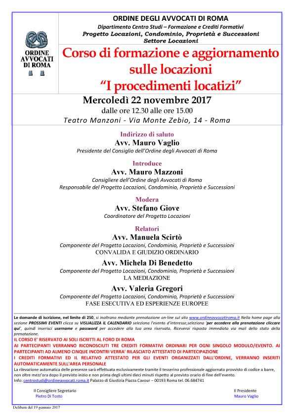 Ordine avvocati roma - Legge sulle locazioni ...