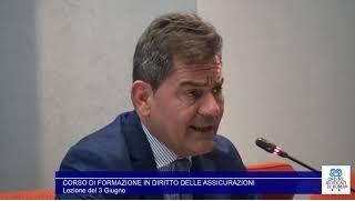 Miniatura del video: CORSO DI FORMAZIONE IN #DIRITTO #ASSICURATIVO - SECONDA LEZIONE (Roma, 03.06.2019)