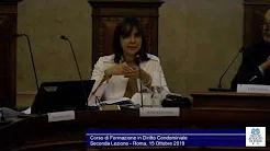 Miniatura del video: CORSO DI FORMAZIONE IN DIRITTO CONDOMINIALE - SECONDA LEZIONE (Roma, 21.10.2019)